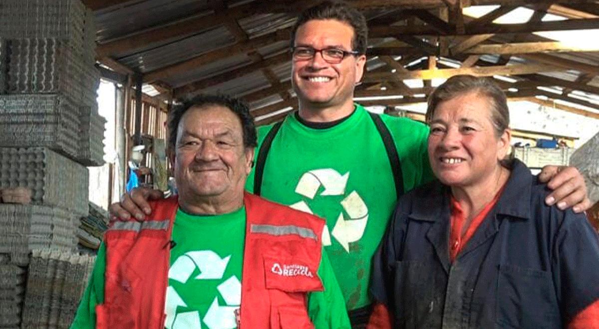 Se estima que en todo Chile existen aproximadamente 60 mil personas que ejercen el trabajo de reciclador o