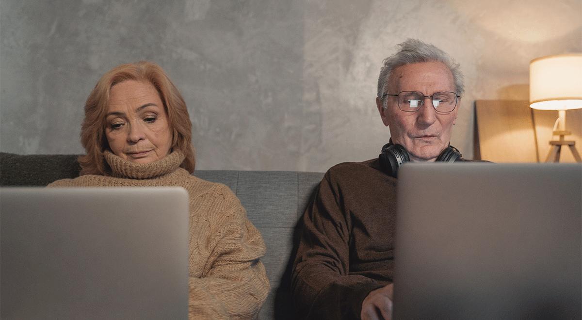 Casi el 50% de los adultos mayores en nuestro país afirma no haber usado nunca internet.