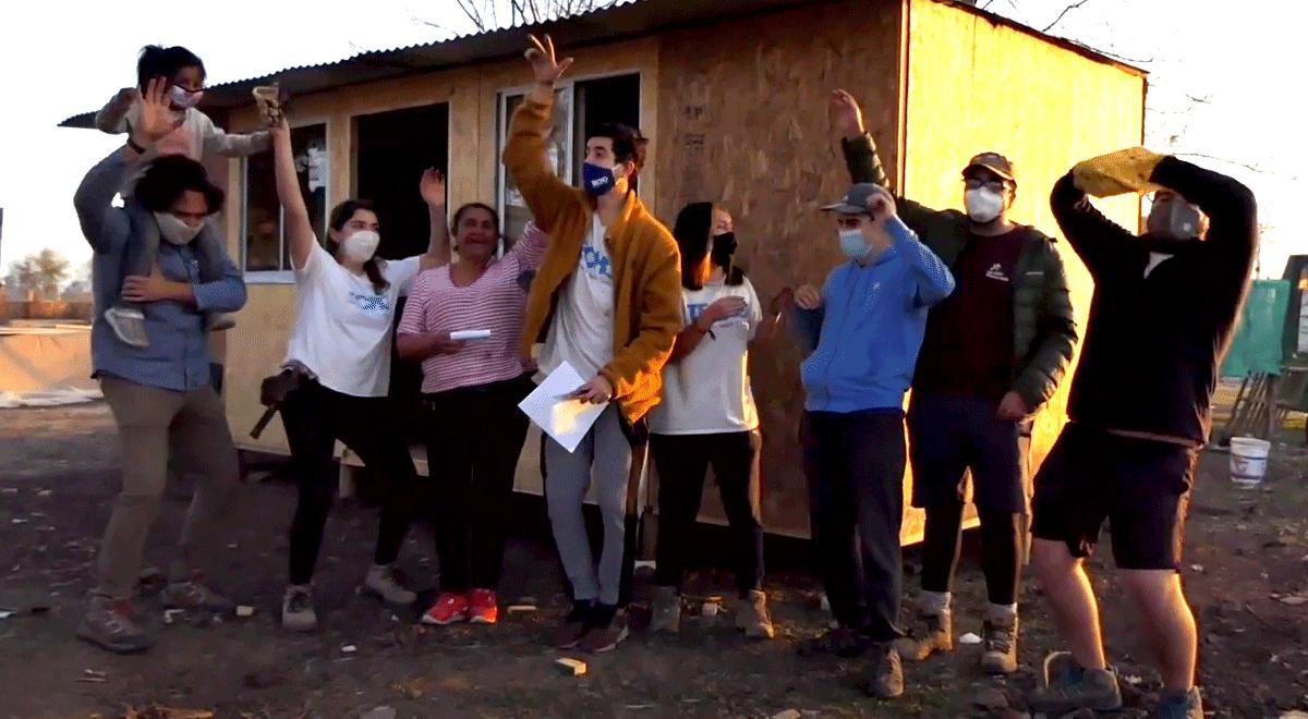 A 500 familias busca beneficiar la iniciativa Chile Comparte Vivienda, impulsada por TECHO-Chile y Fundación Vivienda con la colaboración de Sodimac.