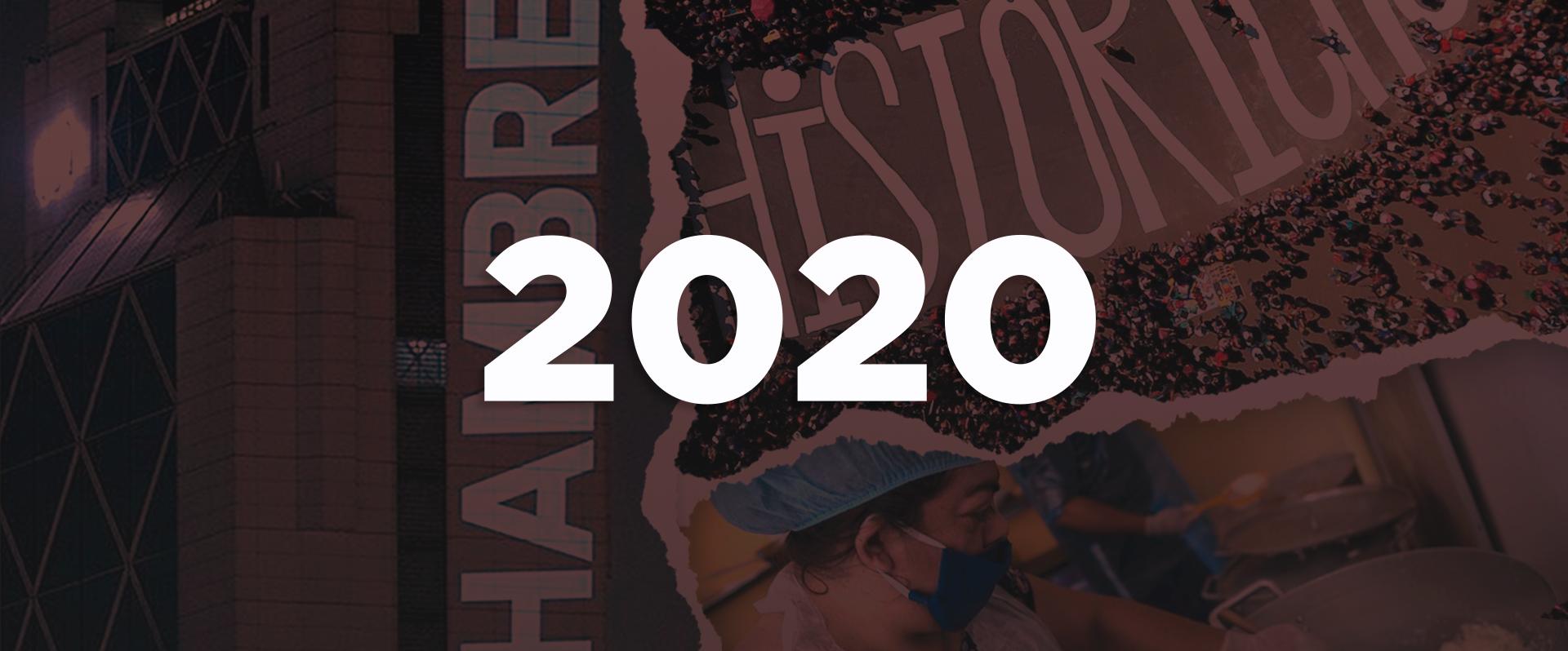 2020: un año que pasará a la historia
