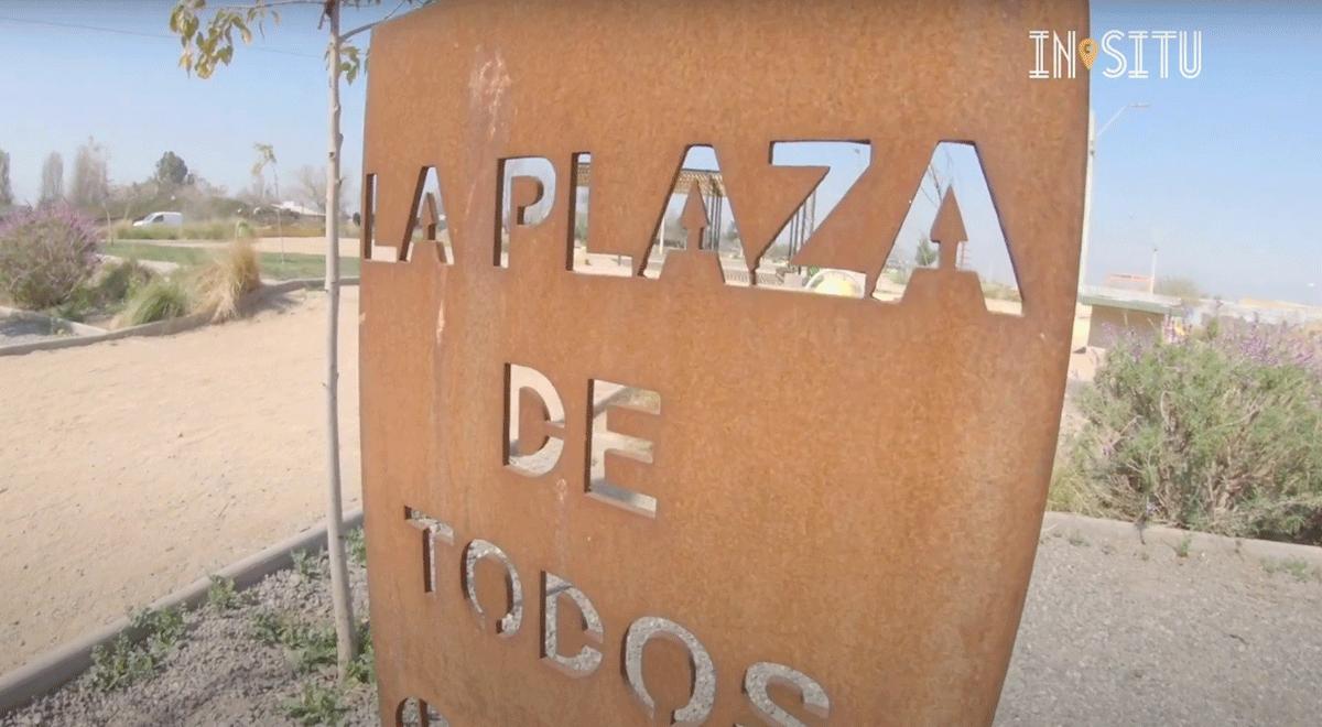 Conoce la Plaza de Todos en San Bernardo, un ejemplo de recuperación de espacios públicos.