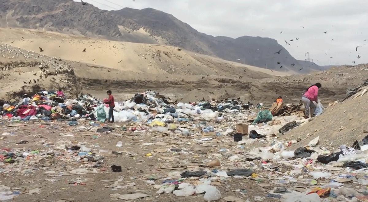 Al vertedero municipal van a parar cerca de 600 toneladas de basura al día, el lugar es un foco de riesgo sanitario, pero es el sustento de cientos de personas.